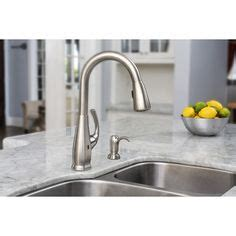 pfister kitchen faucet touchless pfister selia stainless steel 1 handle pull touchless