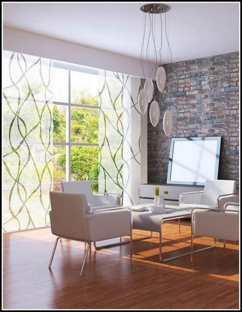 Ideen Modern wohnzimmer gardinen idee