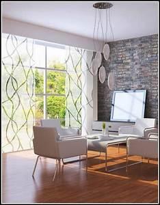Dekoration Wohnzimmer Modern : wohnzimmer gardinen idee ~ Indierocktalk.com Haus und Dekorationen