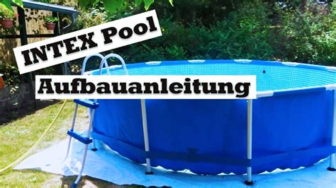 intex pool aufbauanleitung intex pool aufbauanleitung intexpool