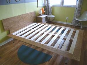 George Nelson Case Study Inspired DIY Bed Mid Century Modern