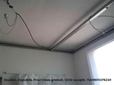 humidité chambre solution rénovation cuisine pose faux plafond