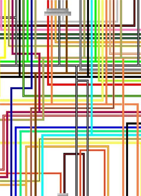 suzuki gsx1300r hayabusa k1 k2 uk spec colour wiring loom diagram