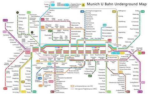 muenchen munich  bahn map rings chameleon web services