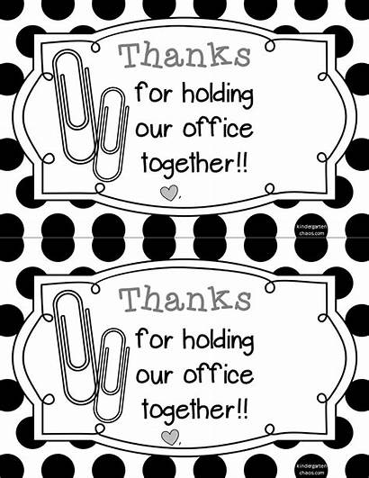 Administrative Professionals Appreciation Printable Cards Admin Gifts