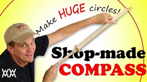 huge circles   homemade beam compass