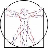 Logo of Vitruvian Man