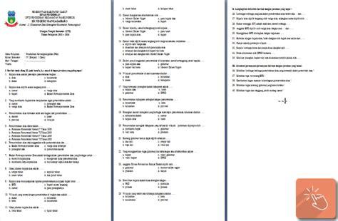 contoh soal uts sd kelas iv semester 1 bahasa indonesia ips pai pkn file pendidikan