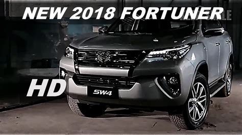 new 2018 toyota fortuner best suv interior and exterior review