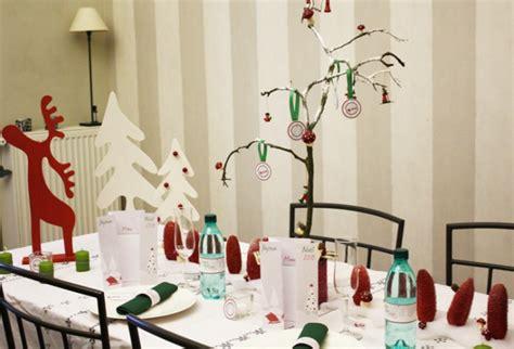 mon noel tradition decoration de buffet rouge  vert