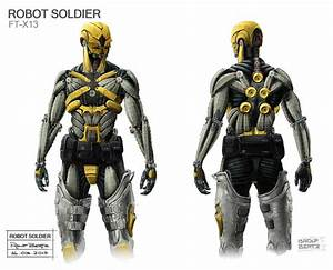 Robot Soldier by Rolf Bertz | Futuristic design and Scifi ...