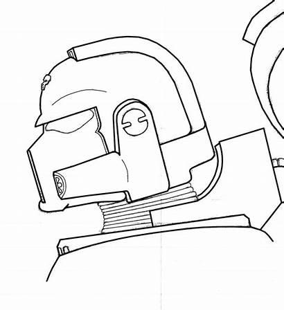 Marine Space Helmet Drawing Drawings Getdrawings License