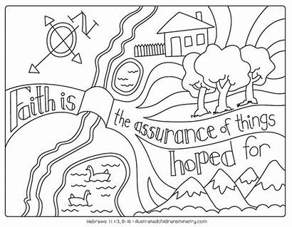 Bible Coloring Story Printable Sheets Illustrated Printables
