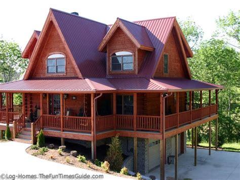 metal home  wrap  porch log cabin  metal wrap log homes  wrap  porches