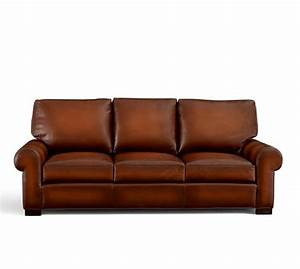 turner roll arm leather sleeper sofa pottery barn With sectional sleeper sofa pottery barn