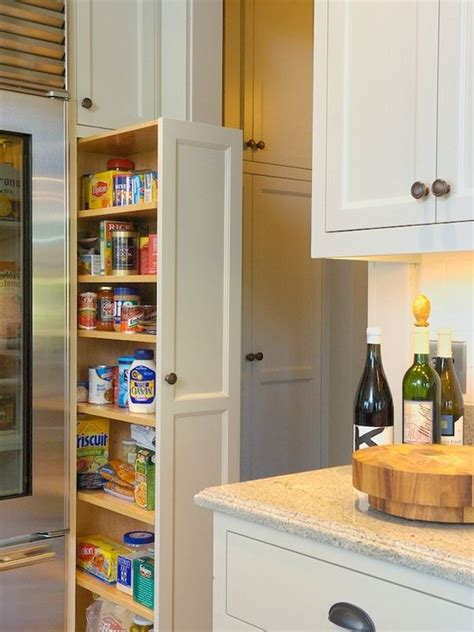 pull out kitchen storage ideas 15 organization ideas for small pantries