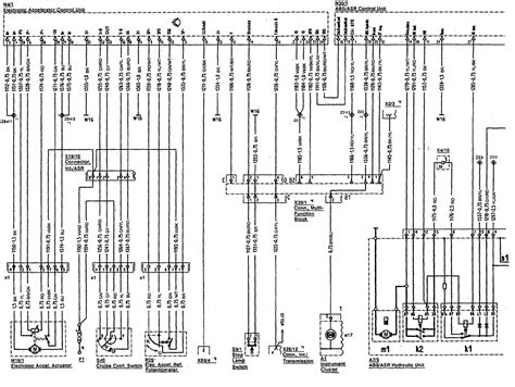 mercedes 500sl 1990 1992 wiring diagrams abs