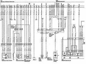 Mercedes-benz 500sl  1990 - 1992  - Wiring Diagrams - Abs