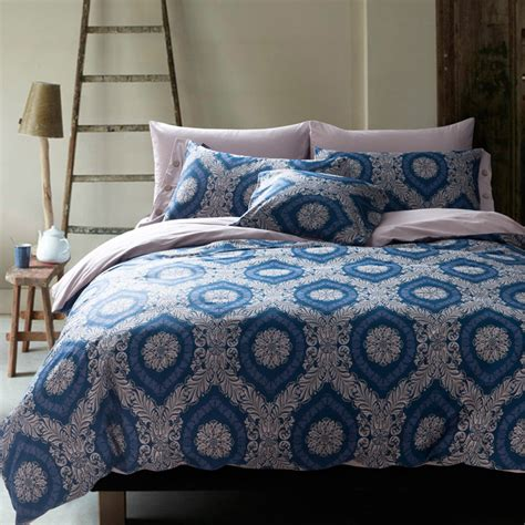 100% Cotton Unique Bedding Sets Bed Set Linen Ocean Tree