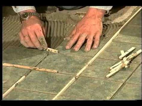 installation des carreaux de c 233 ramique au plancher