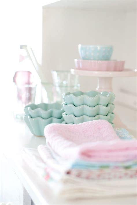 Minty House, Pastels, Ib Laursen, Minty Mint, Pink