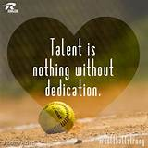 foto de Softball Dedication Quotes QuotesGram