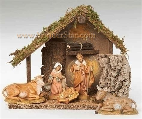 5 quot fontanini 5 pc nativity scene 54484