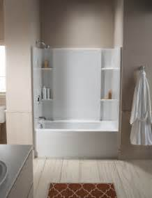 Three Piece Shower Surround by Bathtub Shower Combinations Shower Tubs You Ll Love