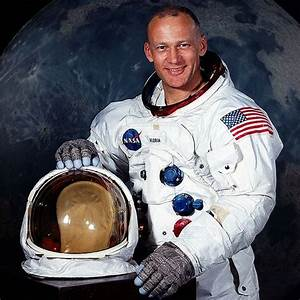 "Edwin ""Buzz"" Aldrin - The Second Man on the Moon ..."