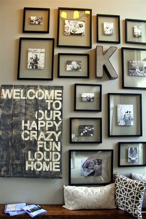 Decorating Ideas For Uneven Walls by 40 Best Family Picture Wall Decoration Ideas Ekstrax