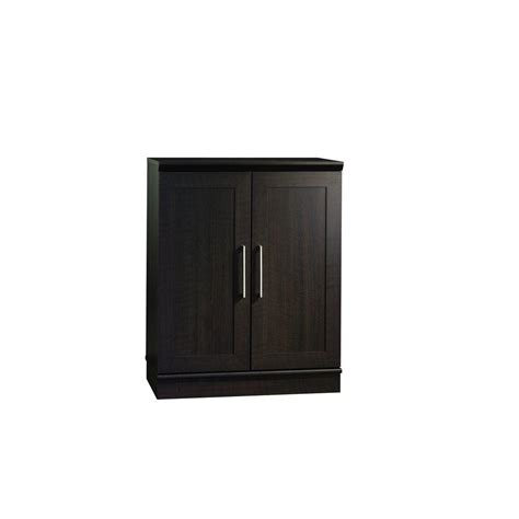 sauder homeplus storage cabinet dakota oak finish sauder homeplus collection 29 5 8 in w x 37 3 8 in h x