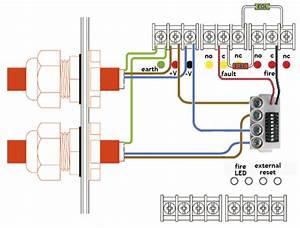 Infinity Id2 2-8 Zone Fire Alarm Panel