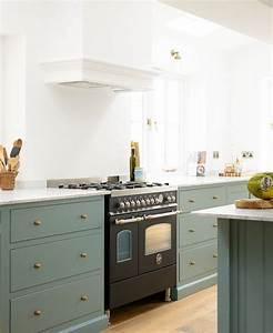 Peinture Vert De Gris : cuisine retro chic fabulous la cuisine vintage suaffirme ~ Melissatoandfro.com Idées de Décoration