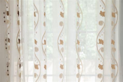 Sheer Voile Curtain Fabric by Rose And Vine Sheer Curtains Gold