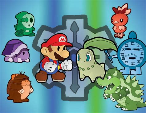Paper Mario Darkness In Time Collage By Leonidas23 On