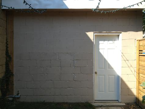 Concrete Block Wall Painting Ideas Defendbigbirdcom