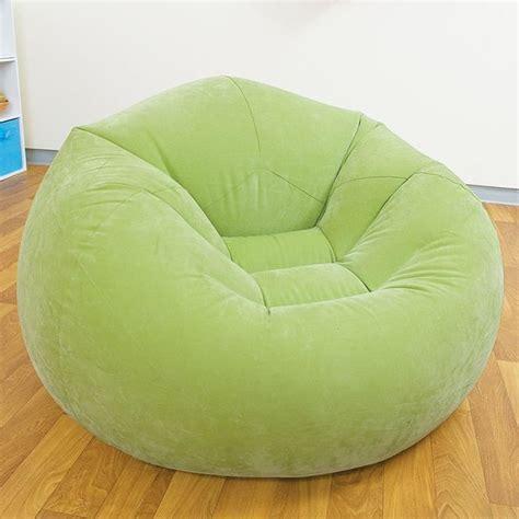pouf pour chambre d ado pouf siège fauteuil gonflable design et coloré vert achat vente pouf poire soldes