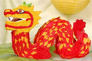 Dragon Pinata Arts & Crafts Chinese New Year New