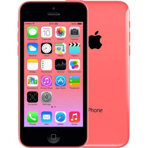 refurbished unlocked iphone apple refurbished unlocked iphone 5c in pink 32gb buy