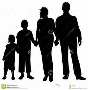 Family Silhouette Vector Royalty Free Stock Photography ...