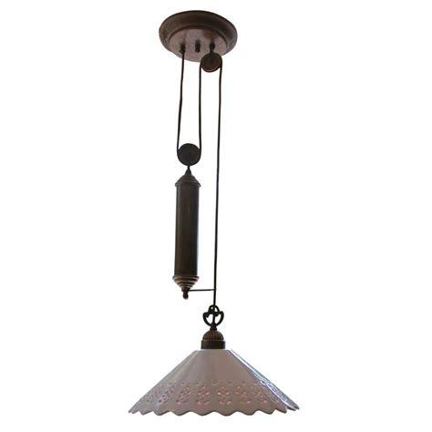 pulley pendant light fixtures il fanale single pendant