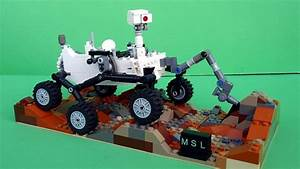 You Can Also Build Mars Rover Curiosity Using LEGO Brick
