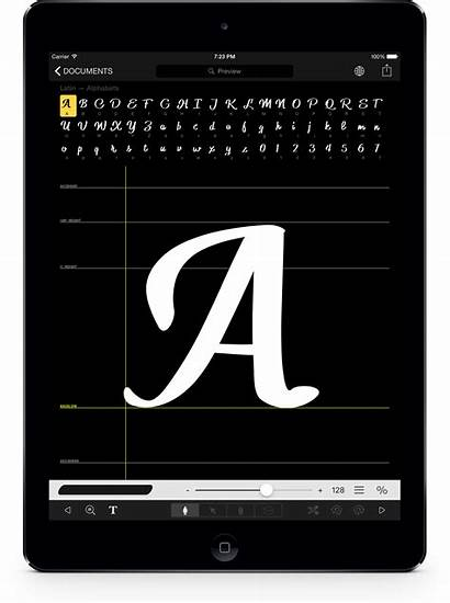 Ipad Ios Font Fonts Apps Own Draw