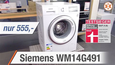 siemens waschmaschine angebot siemens waschmaschine wm14g491 die top features experten angebot der woche