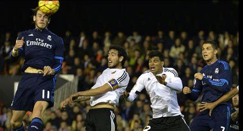 Real Madrid empató con el Valencia y no avanza en LIGA ...