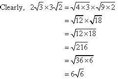 multiplication of surds