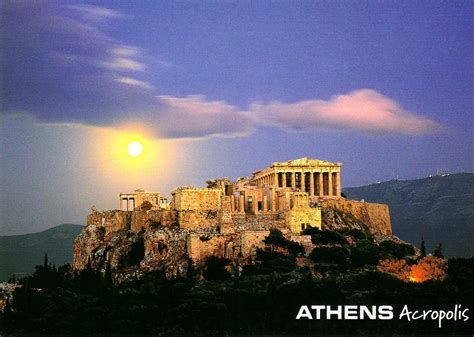 Moonlights Unesco Whs Blog Greece Acropolis Athens