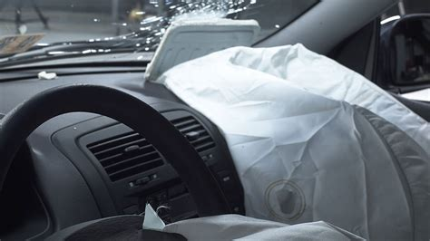 airbag deployment 1990 mitsubishi truck instrument cluster bumpers fail on 3 small cars and 1 minivan in latest tests