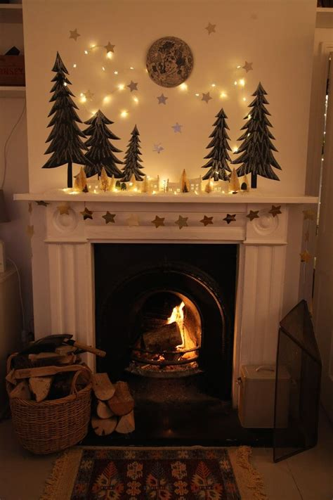 ideas about christmas fireplace mantels of including