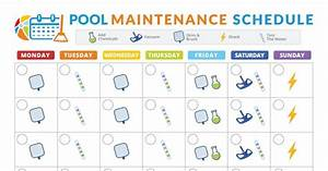 Pool Maintenance Schedule Pdf In 2019